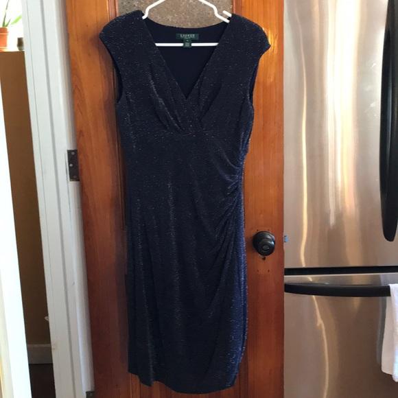 62dff95f Ralph Lauren Dresses | Navy Blue Sparkle Dress | Poshmark